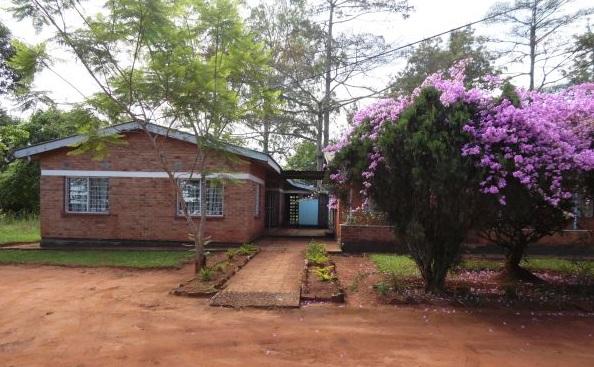 Der Sitz der oberen Forstbehörde für Nordmalawi
