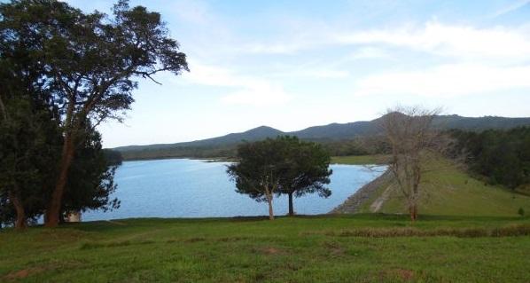 Das Trinkwasser für Mzuzu kommt aus diesem Stausee am Rande der Stadt
