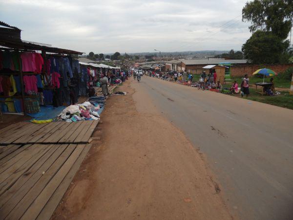 Marktstraße in Mzuzu