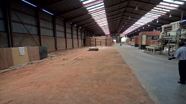 In der Halle der MDF-Anlage ist noch Platz für eine zweite Produktionslinie!